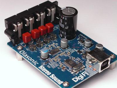 Olasonic USB DAC付デジタルパワーアンプ 1